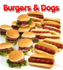 BURGERS and DOGS
