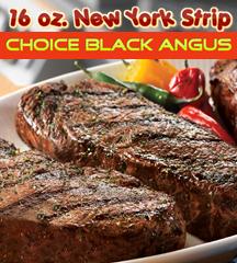 New York Strip Choice Angus 16 oz.