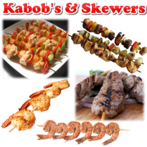 KABOBS & SKEWERED MEAT
